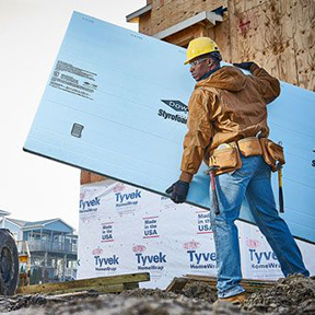 DuPont™ Tyvek® and Dow STYROFOAM™